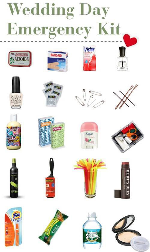 Wedding Day Emergency Kit (Another Option)