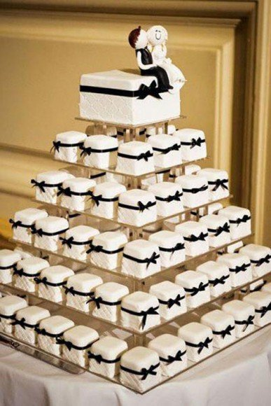 Mini everything was popular this year. Looking for more? We found 16 Mini Wedding Foods that are (almost) too cute to eat.