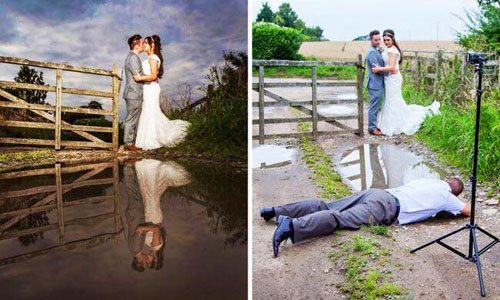 How the Photographer Gets the Shot