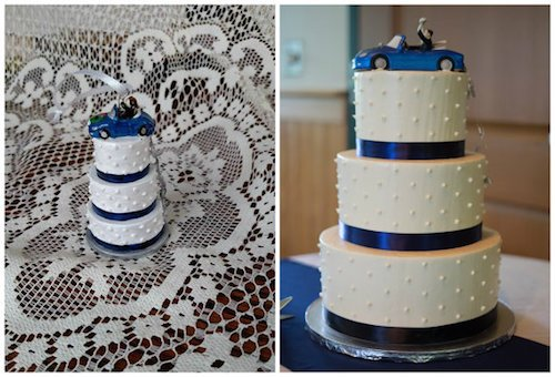Turn Wedding Cake Into Christmas Ornament