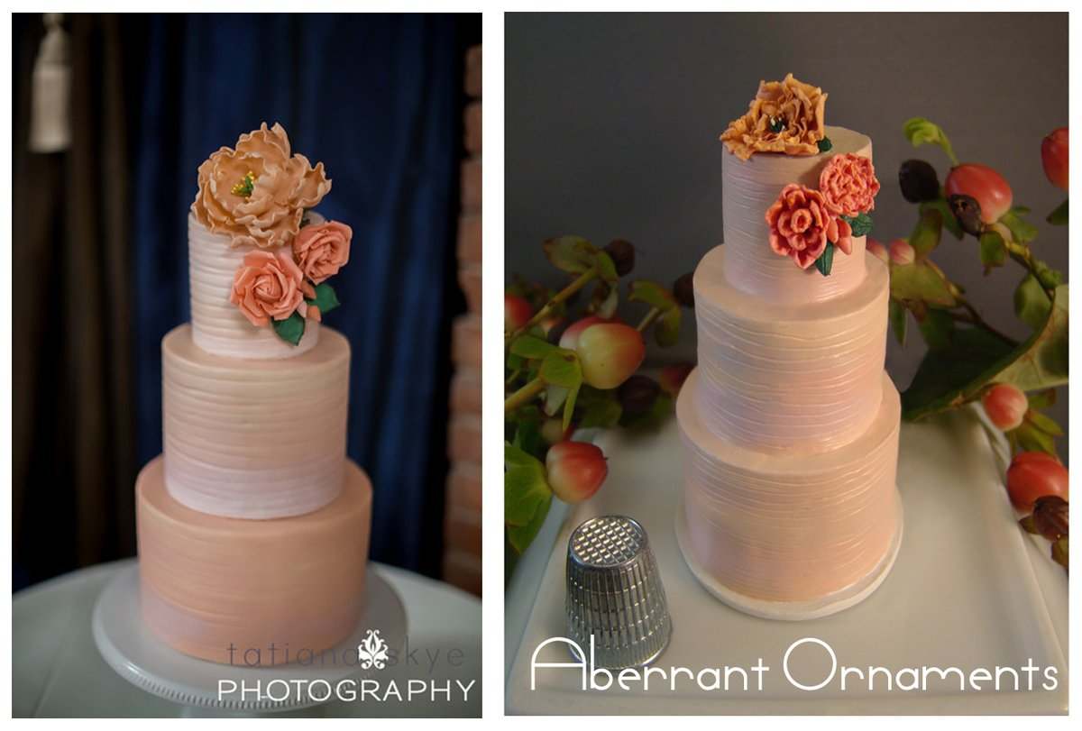 How To Turn Your Wedding Cake Into An Ornament