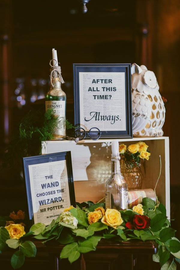A Fun And Festive Harry Potter Wedding In New Jersey