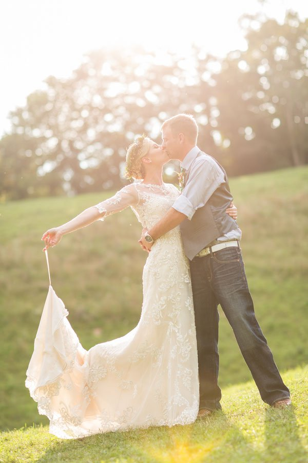 A Rustic and Romantic Virginia Farm Wedding