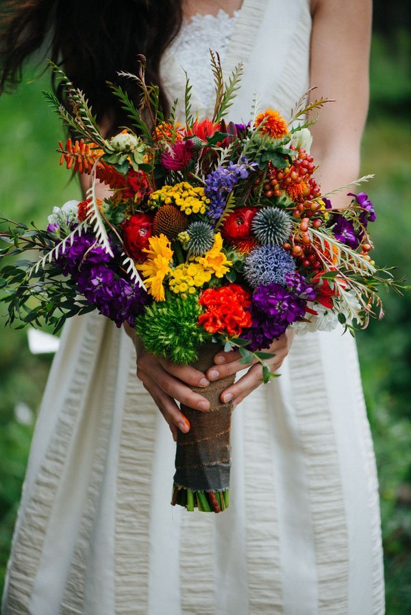 wildflower wedding bouquet wedding inspiration where the things are 1412