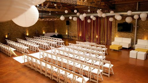 loft on lake wedding venue