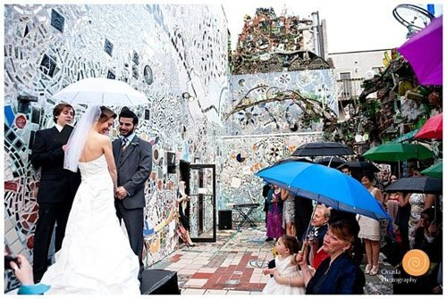 Wedding Venue Review Philadelphia S Magic Gardens