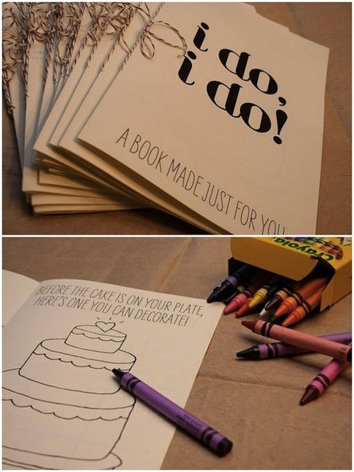 'I Do' Coloring Books