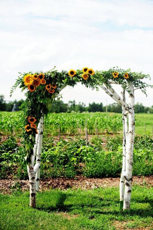 sunflower decorations for weddings 10 home country wedding ideas 7826