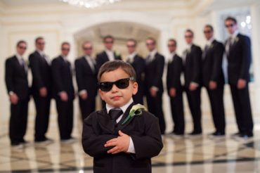 cute kids at weddings