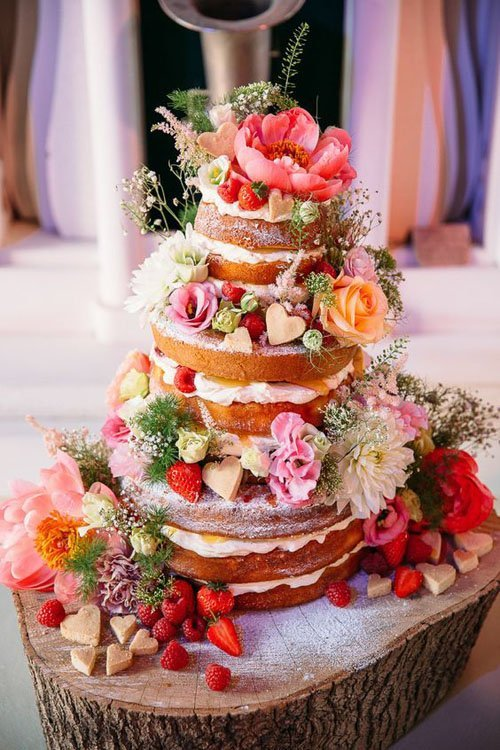 Amazing Spring Wedding Cakes
