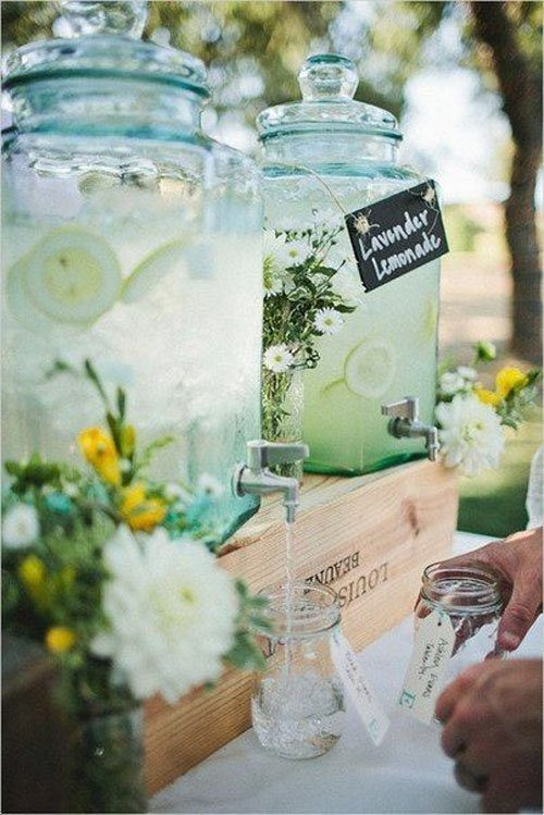 Spring Wedding Cocktails