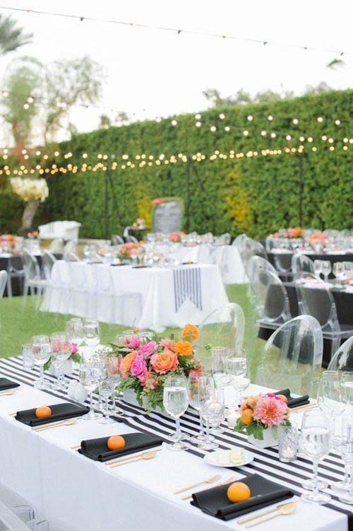 Spring Reception Decor