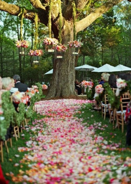 Spring Ceremony Decor