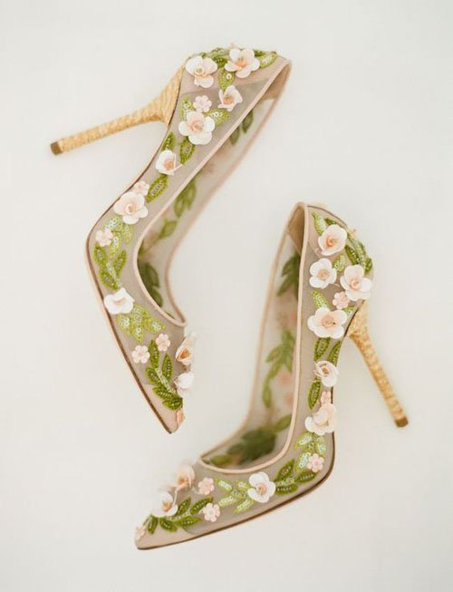 Spring Wedding Shoes