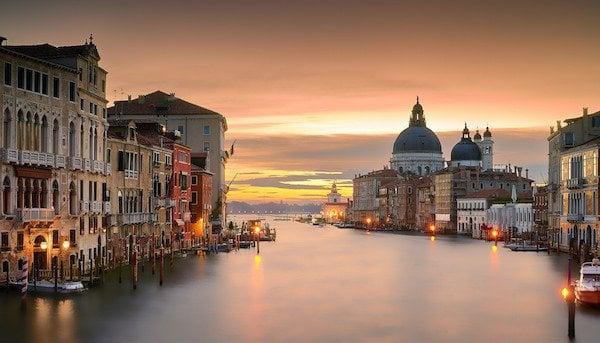 Venice sunrise. Photo by Pedro Szekely