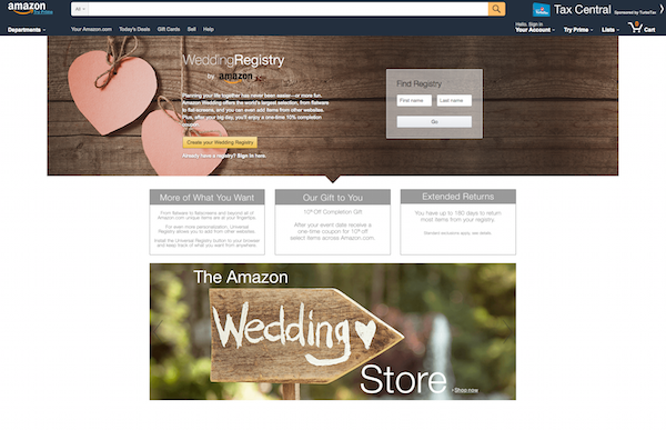 We review the new amazon wedding registry amazon wedding registry malvernweather Image collections