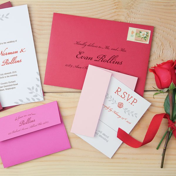 everything i learned from mailing my wedding invitations - Mailing Wedding Invitations