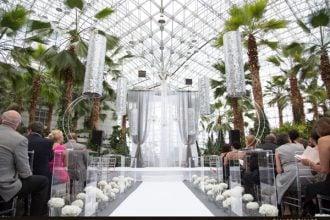 The best wedding venues the crystal gardens navy pier loft on lake wedding venue illinois wedding venues junglespirit Gallery