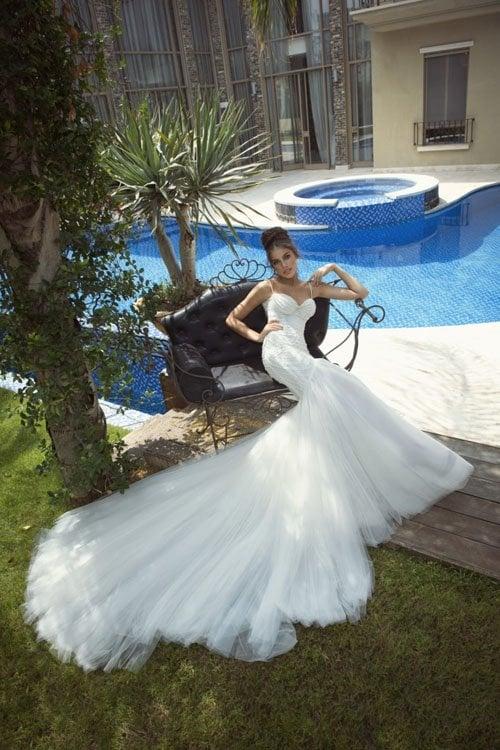 Sloth in wedding dress