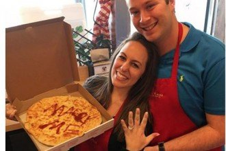 pizza marriage proposal