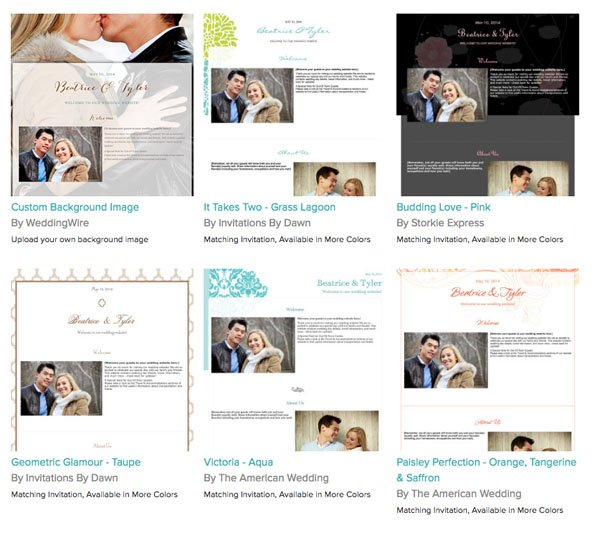 5 Awesome Free Wedding Websites to Check Out Now
