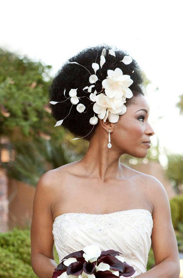 Remarkable 8 Glam And Gorgeous Black Wedding Hairstyles Hairstyle Inspiration Daily Dogsangcom