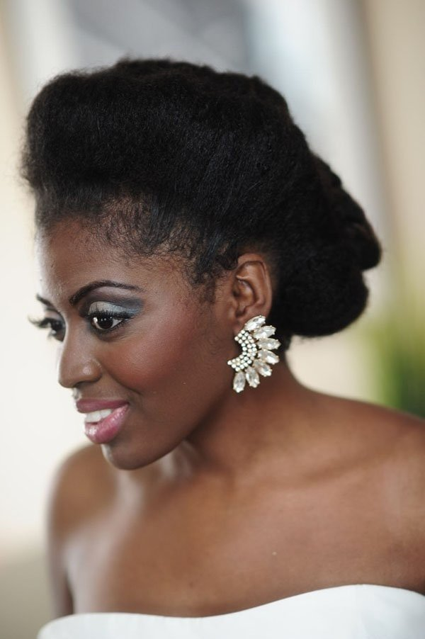 Phenomenal 8 Glam And Gorgeous Black Wedding Hairstyles Hairstyles For Men Maxibearus