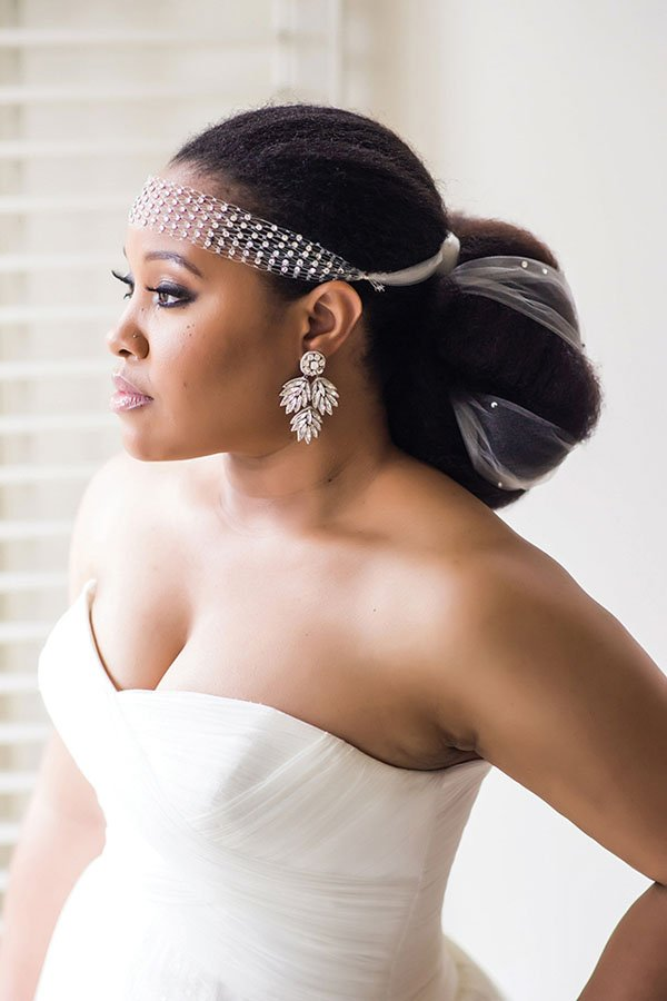 wedding styles for black hair 8 glam and gorgeous black wedding hairstyles 2895