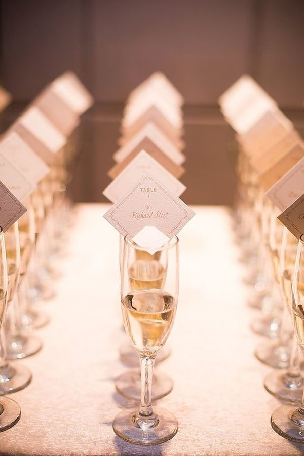 10 gorgeously creative ideas for wedding place cards Unique place card ideas