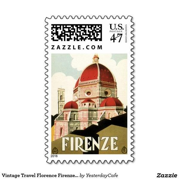Custom stamp via Zazzle