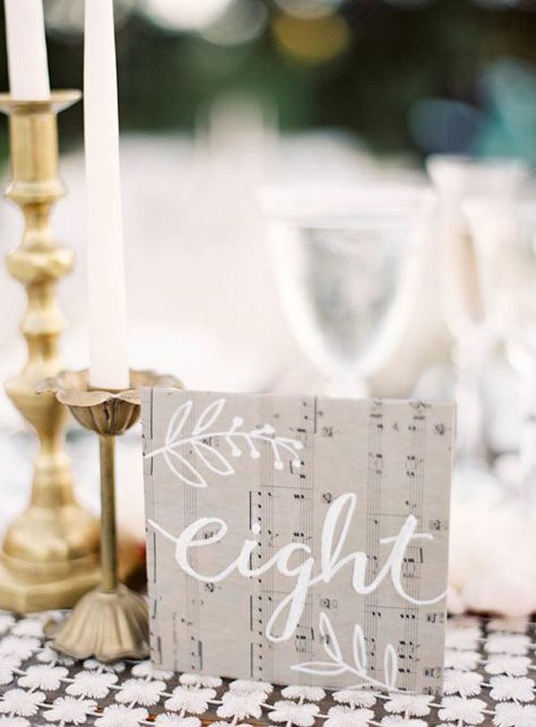 10 adorable wedding ideas for music lovers photo by jen huang photography junglespirit Image collections