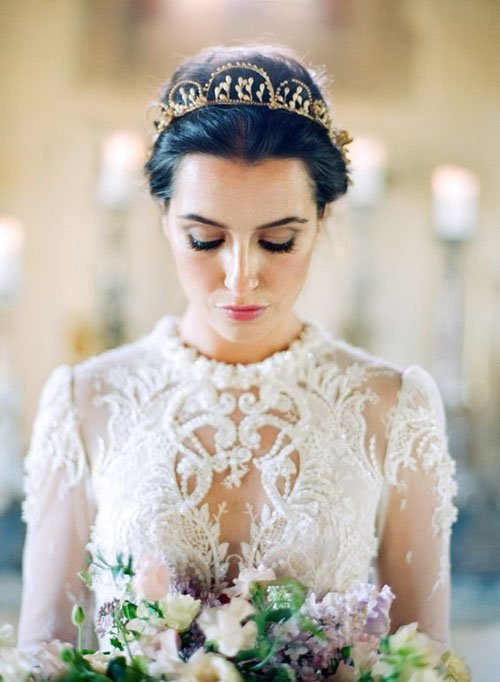 Outdoor Wedding Makeup Suggestions : 25 Classically Gorgeous Wedding Makeup Looks