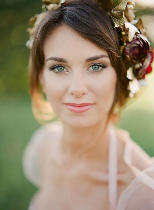 Light Makeup Tips For Wedding : 25 Classically Gorgeous Wedding Makeup Looks