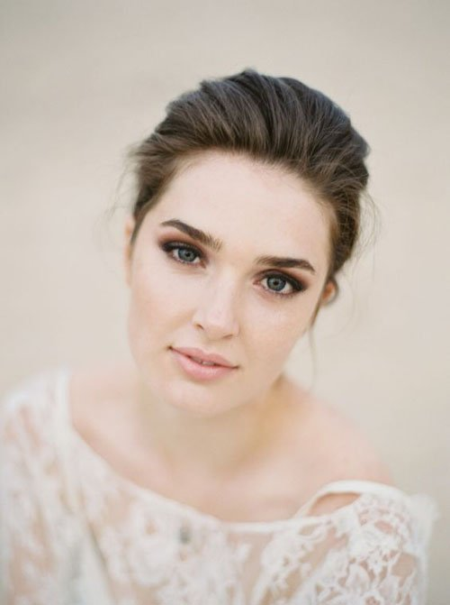 Classic Wedding Hair And Makeup : 25 Classically Gorgeous Wedding Makeup Looks