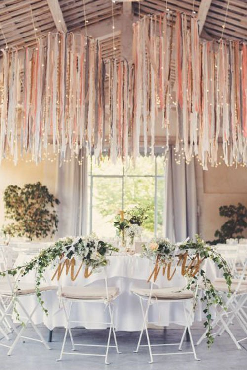 15 Pretty Perfect Wedding Reception Ideas