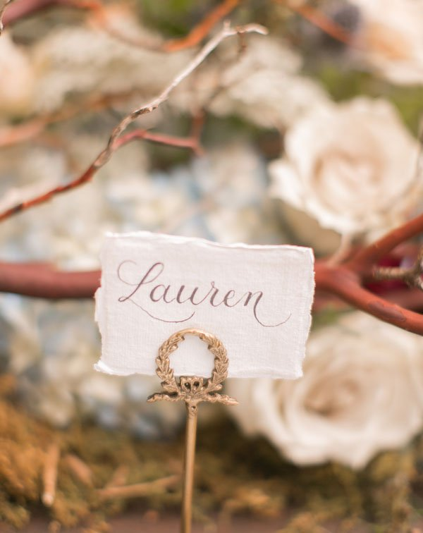Wedspiration: A Delicately Chic New Orleans Wedding | Woman Getting ...