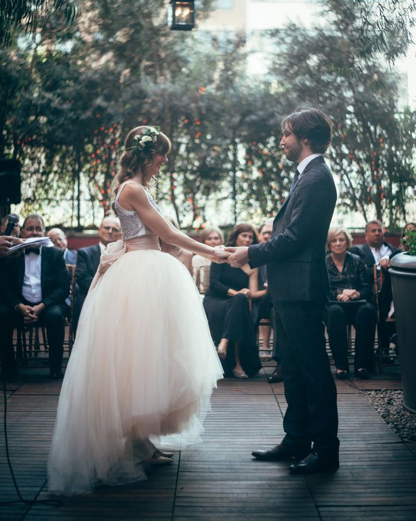 Talking About an Ex, Debt & Divorce: The Oddest Things People Said in Their Vows