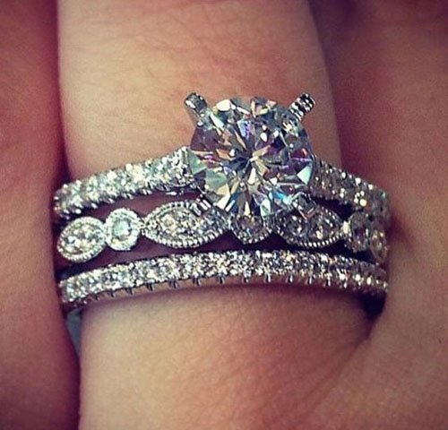 43 Stunning Engagement Rings She'll Love. Samurai Wedding Rings. Irish Wedding Wedding Rings. Portia Engagement Rings. Jains Engagement Rings. Criss Cross Engagement Rings. Crushed Diamond Engagement Rings. June Birthstone Wedding Rings. Multicam Wedding Rings