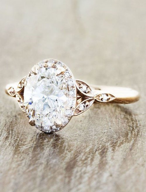 43 Stunning Engagement Rings Shell Love