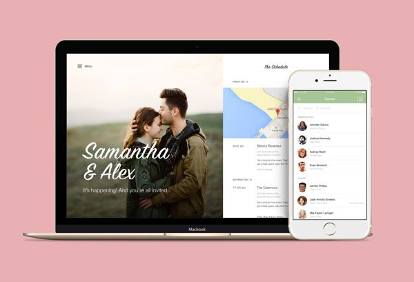 this wedding website will make your life way easier