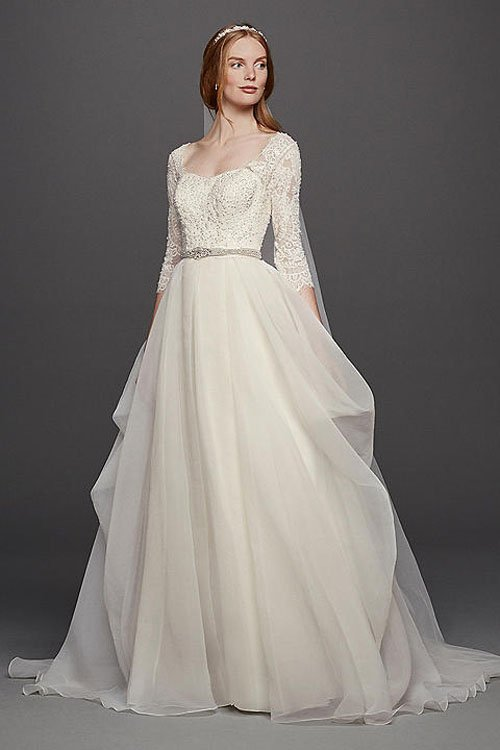 How much oleg cassini wedding dresses cost and where to for Wedding dress designer oleg cassini