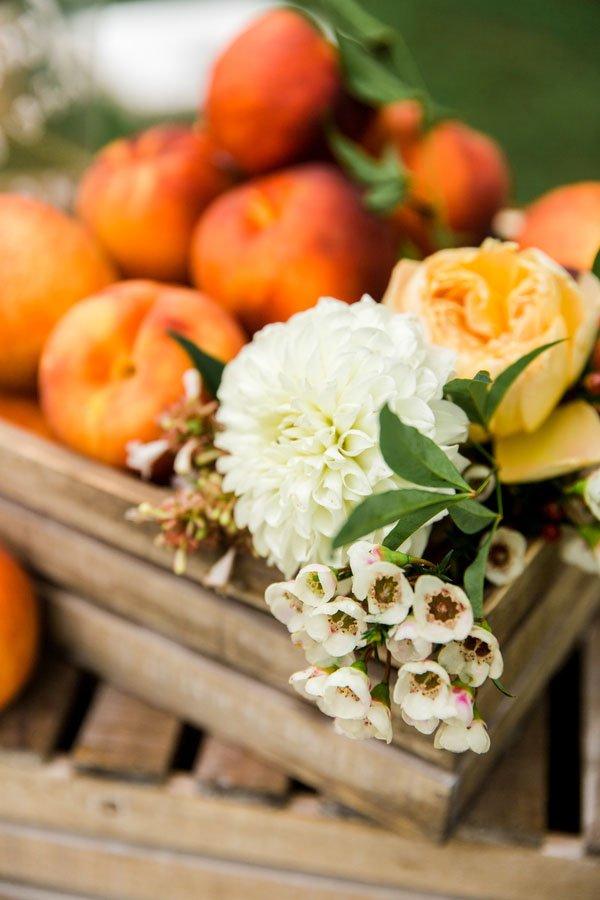 Wedspiration An Elegant And Charming Orchard Wedding