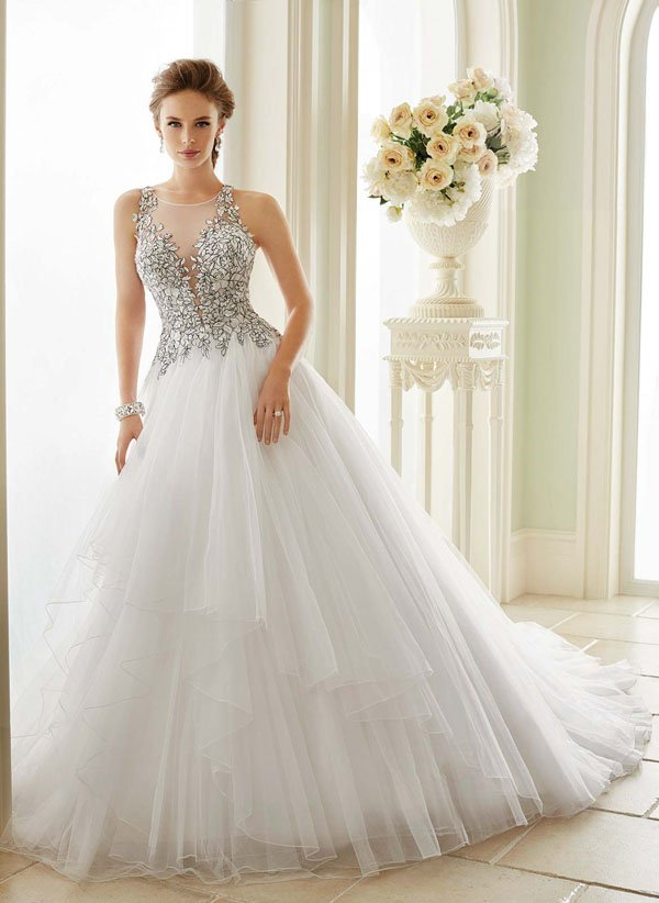 Wedding Dress Designer: Sophia Tolli | Woman Getting Married