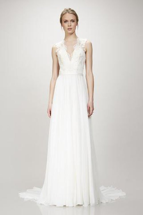 All about theia wedding dresses and how much they cost for How much wedding dress cost