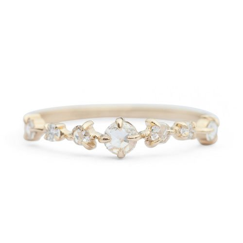 20 Stunningly Gorgeous And Unique Wedding Bands For Her