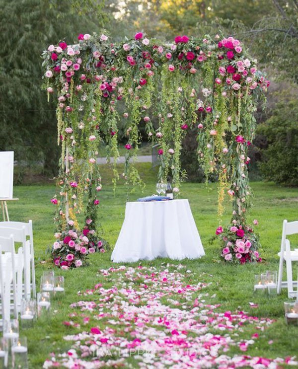 Outdoor Wedding Altars: 10 Perfect Wedding Arches For Every Theme And Style