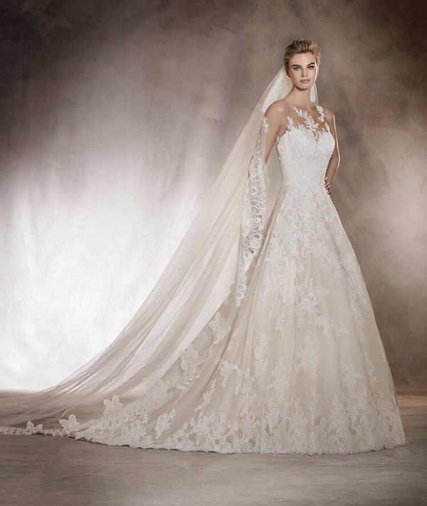 Where to find the best pronovias wedding dresses for Typical wedding dress cost