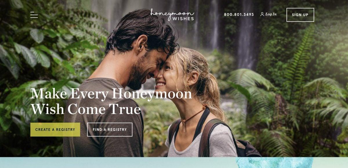 honeymoon wishes registry