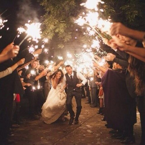Sparklers For Wedding.15 Epic Wedding Sparkler Sendoffs That Will Light Up Any Wedding