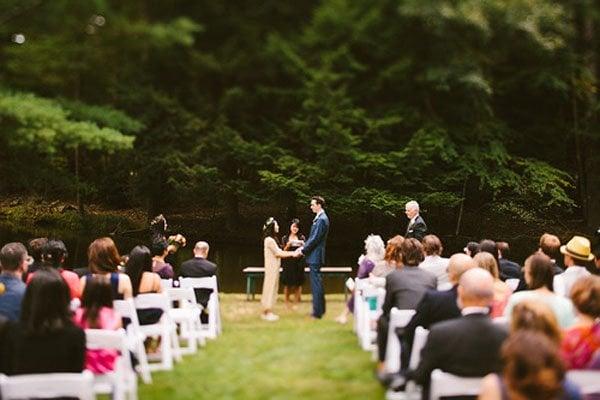 floating farmhouse wedding